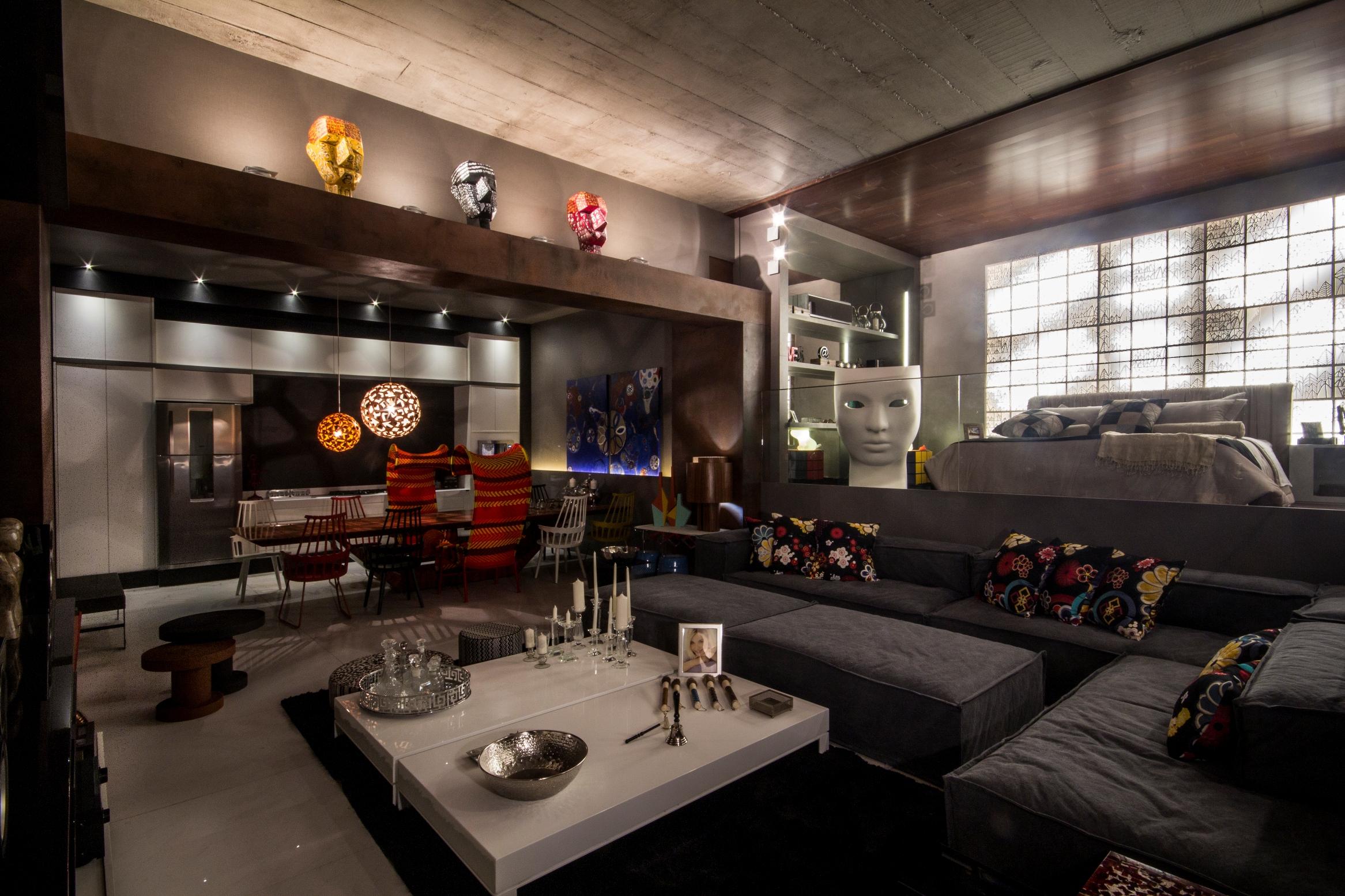 Casa cor bras lia 2013 for Casa moderna tipo loft