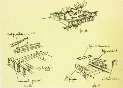 Fonte - João Filgueira Lima Lelé arquitetos brasileiros, 2000, p. 46, Editorial Blau, Institudo Lina Bo e P.M. Bardi. (2)